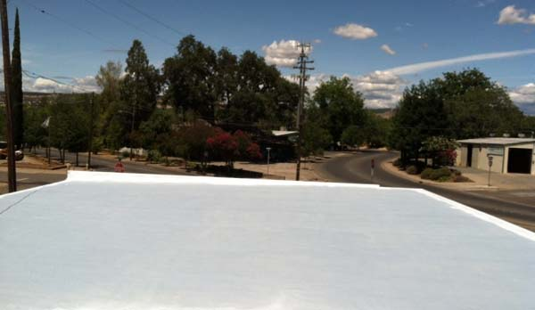 Flat Roof Restoration by MAST Roofing