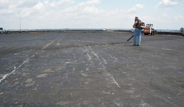Flat Roof Restoration and Coatings by MAST Roofing