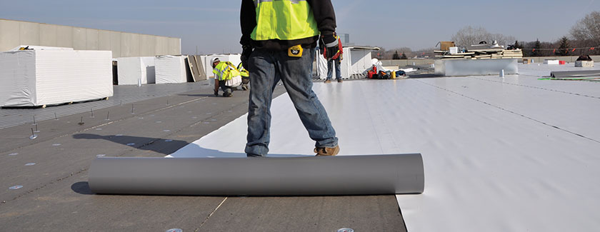 Single Ply Roof Membrane